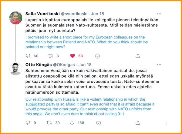 This week's Weekly Focus topic is sparking debate on Finnish twitter.