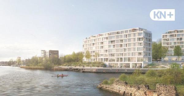 Bauprojekt in Kiel: Evoreal plant 124 Wohnungen an der Schwentine-Mündung