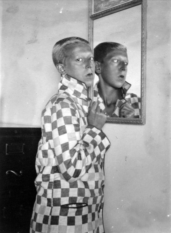 Claude Cahun (France) Self-Portrait 1928. Cahun (born Lucy Renee Mathilde Schwob, 25 October 1894 – 8 December 1954) was a French surrealist photographer, sculptor, and writer. Cahun's work was both political and personal, and often undermined traditional concepts of static gender roles.