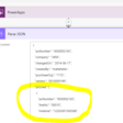 How to convert JSON array from cloud flow into a collection in canvas app - Debajit's Blog