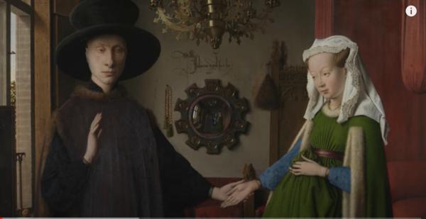 Mirrors in Pre-Raphaelite paintings | Reflections: Van Eyck and the Pre-Raphaelites