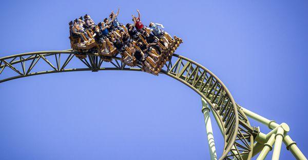 Endlich Achterbahn und Freifallturm: Im Hansa-Park geht's wieder ab