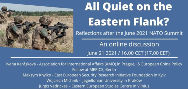 All Quiet on the Eastern Flank? Reflections after the June 2021 NATO Summit - New Eastern Europe