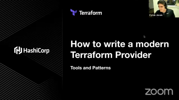 How to Write a Modern Terraform Provider: Tools and Patterns