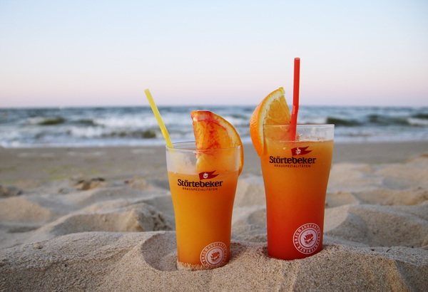 Leckere Cocktails am Strand. Was gibt's Schöneres? (Foto: Anke Hanusik)