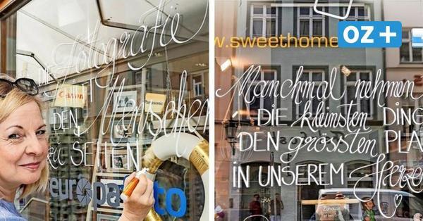 Poesie am Schaufenster: So sollen Kunden in die Läden von Wismar gelockt werden