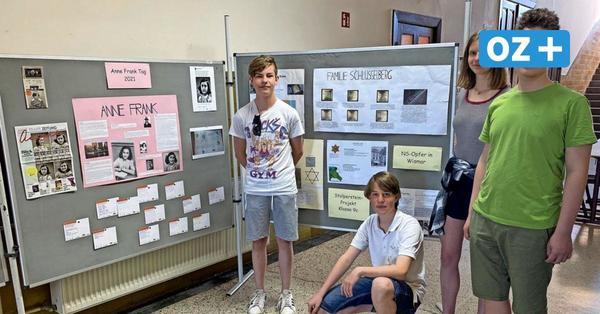 Wismar: Neuntklässler beschäftigen sich mit Holocaust-Opfer Anne Frank