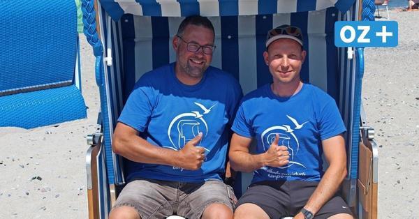 Strandkörbe und Wassersport: Das ist neu am Börgerender Strand