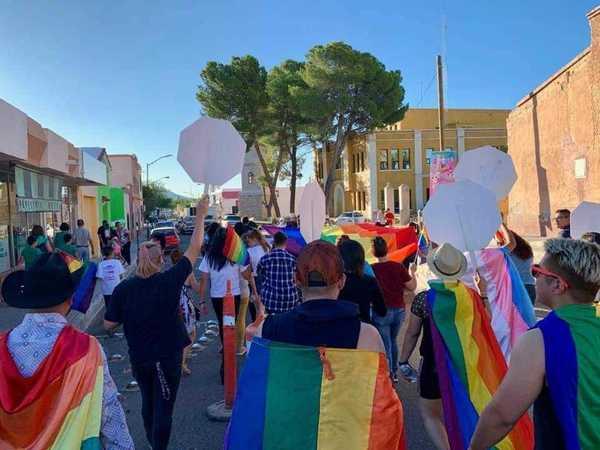 Marcha del Orgullo LGBT+ de Camargo, 2019. Foto: Camargo LGBTI