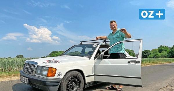 Greifswalder Brüder fahren Rallye für den guten Zweck