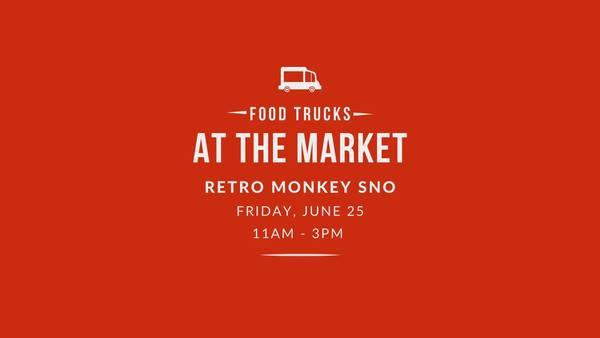 Food Truck Friday with RetroMonkey Sno! at Hancock Family Farm | Friday, June 25 @ 11am