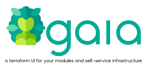 Gaia is a Terraform 🌍 UI for your modules, and self-service infrastructure 👨💻