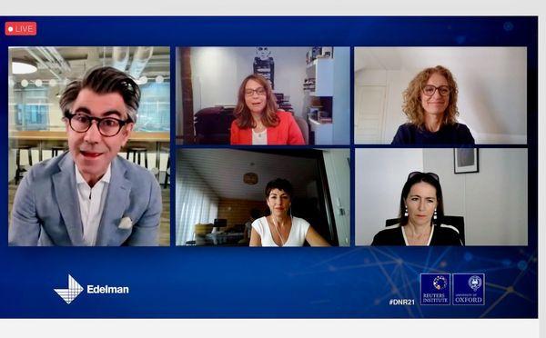 Digital News Report 2021: a good crisis for the media?