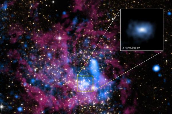 Sagittarius A*: buco nero o materia oscura? - Focus.it