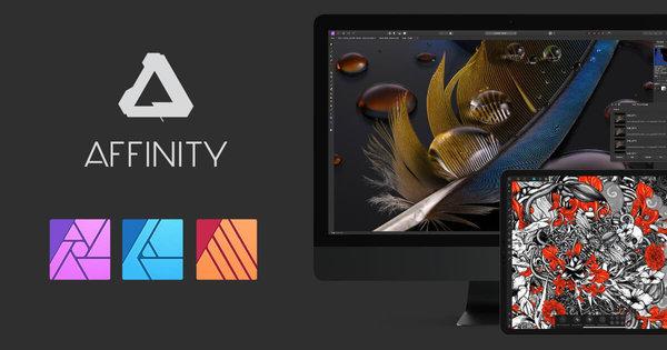 Affinity Photo, Publisher und Designer wieder stark reduziert