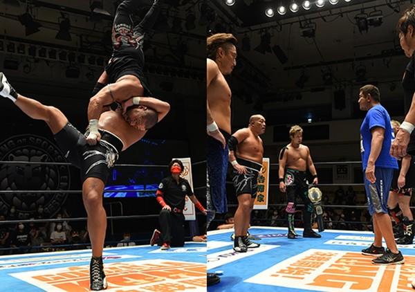 NJPW: «Kizuna Road 2021» CHAOS se afianza al cetro de tercias