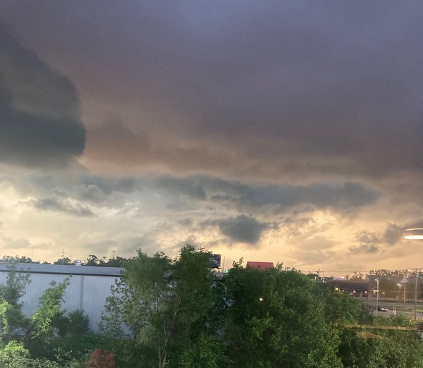 The clouds before the storm