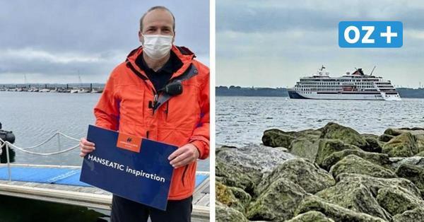 Großer Pott in Boltenhagen: Warum plötzlich Kreuzfahrtschiffe im Ostseebad anlegen