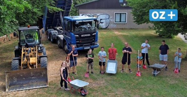 """Bike-Park"" entsteht am Wolgaster Jugendhaus"