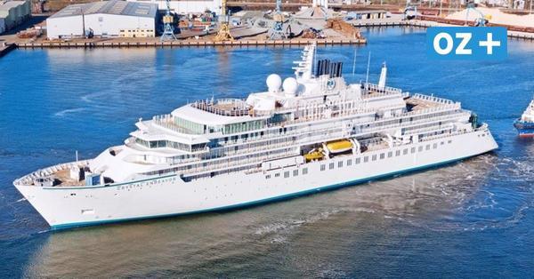 """Taufe der """"Crystal Endeavor"""" in Stralsund – Livestream vom Luxus-Kreuzfahrtschiff"""
