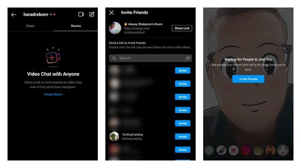 Instagram is making Rooms video chats available to more users