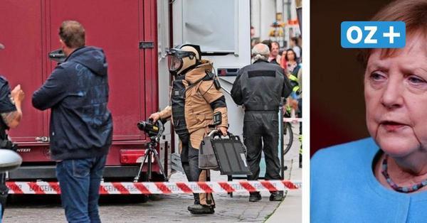 Nach Bombenalarm vor Merkel-Büro in Stralsund: Was der Verdächtige vorhatte
