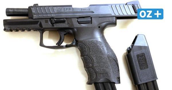 Polizei in Greifswald sucht weiter nach verlorener Dienstpistole: Wo ist die Waffe?