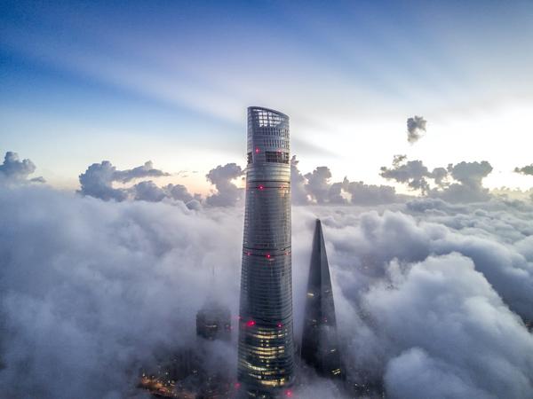 """""""J Hotel"""" in Shanghai ist das höchste Hotel der Welt"""