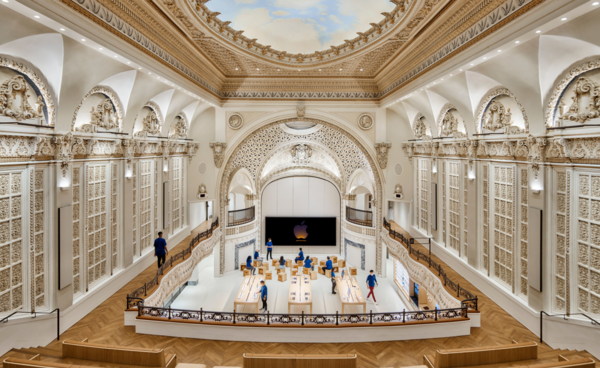Apple converts 1920s downtown LA theatre into show-stopping store | Wallpaper
