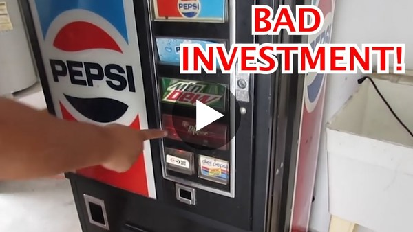 What I wish I Knew BEFORE Buying VENDING MACHINES!