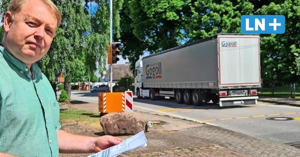 A-21-Sanierung: Verkehrsaufkommen in Schackendorf hat sich verfünffacht
