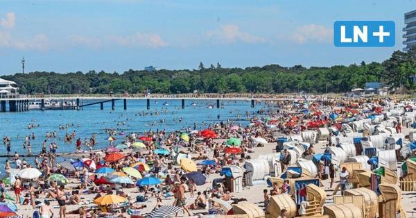 Urlaub in Ostholstein: Küste fast ausgebucht und Strandampel gefragt