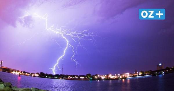 Kräftige Gewitter am Dienstag in Mecklenburg-Vorpommern