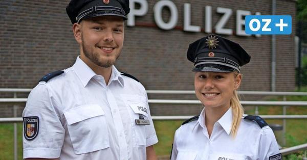 Bäderdienst auf Usedom: Junge Polizisten verstärken Kollegen