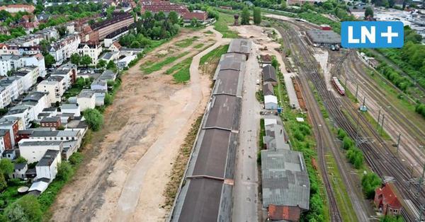 Baustart: Neues Gebiet am Lübecker Bahnhof mit 320 Wohnungen und Häusern