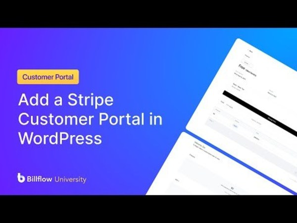 How to Add a Stripe Customer Portal in WordPress   NoCodeDevs.com