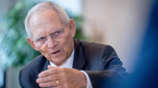 Schäuble: Corona-Pandemie ist Weckruf für mehr Reformen