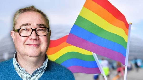 """Er hatte die Idee zur Münchener Regenbogen-Aktion: Beppo Brem ist """"stolz auf diese bunte Stadt"""""""