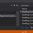 Adjusting StackFrames in Visual Studio