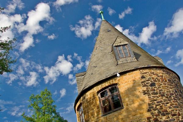 Der Maltermeister Turm gilt als ältestes Über-Tage-Gebäude des deutschen Bergbaus. (Foto: Handout Stadt Goslar)