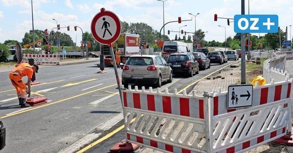 Baustellen in Rostocks Süden: Anwohner sind genervt vom Verkehrschaos