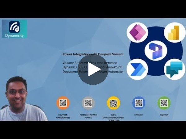 Power of Integration Vol 3: Security sync between Dynamics 365 and SharePoint using Power Automate