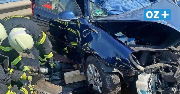 Schwerer Unfall auf Rügenbrücke: Wie Einsatz-Kräfte den Hitze-Horror erlebten