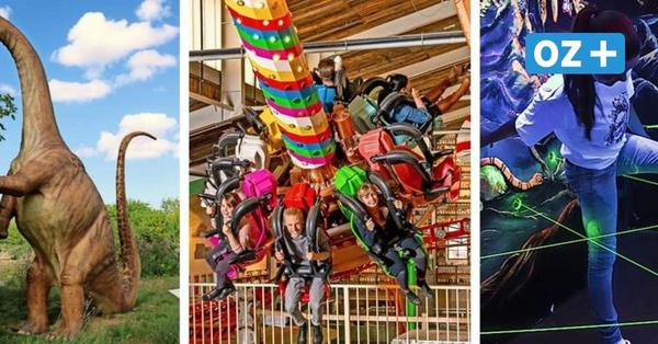 Freizeitparks in MV: Hier können Familien in den Sommerferien Spaß haben