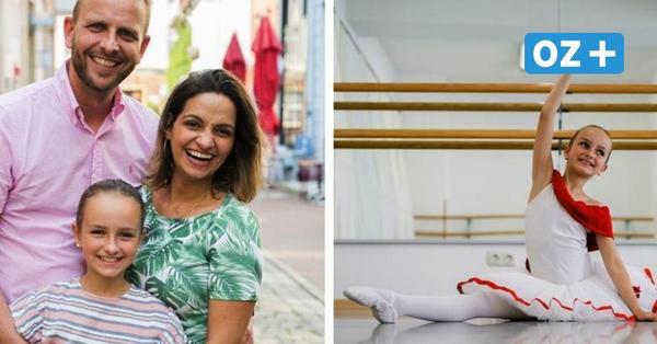 Als Einzige aus MV: Kleine Ballerina (10) aus Rostock tanzt bald in Berlin