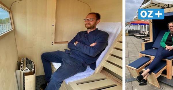 Strandkorb und Sauna in einem: Boltenhagener Hotel vermietet Korbsauna