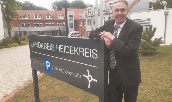 Manfred Ostermann tritt erneut bei der Wahl zum Landrat an - Heidekreis - Walsroder Zeitung