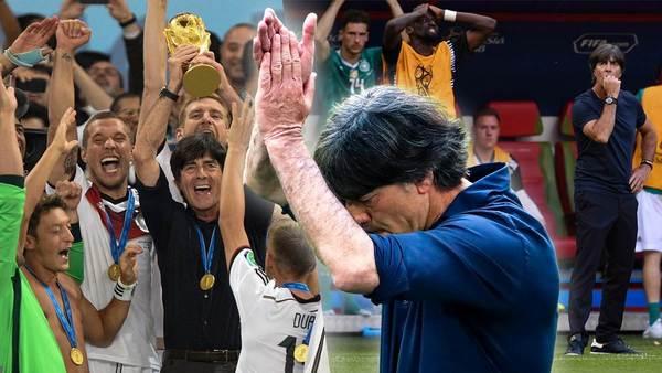 Bundestrainer mit der längsten Amtszeit: Die Ära von Joachim Löw in Bildern