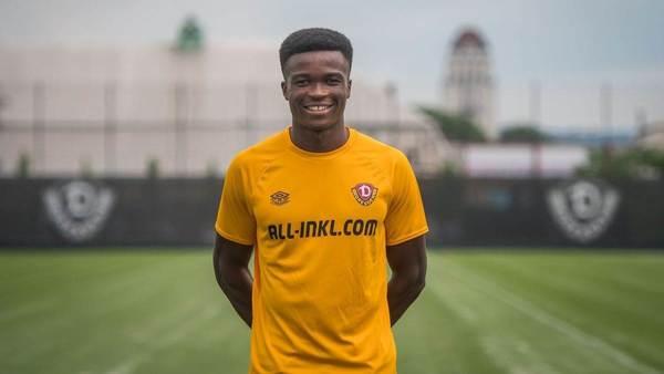 Dynamo Dresden verpflichtet Abwehrspieler Akoto