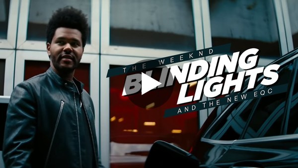 Mercedes-Benz EQC Commercial | The Weeknd Blinding Lights